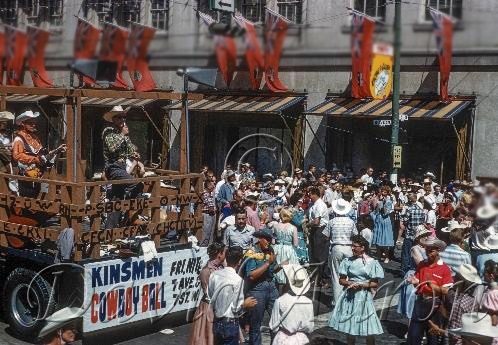 Kinsmen Support The Calgary Stampede 1963