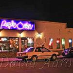 The Purple Onion sat just one block south of Whyte Avenue for almost 30 years.  Closed in 2009.